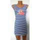 Сукня блакитна К-07021