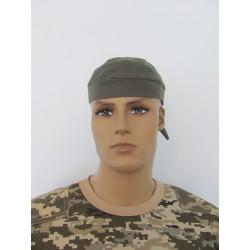 Бандана-шапочка хаки К-09114