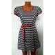 Сукня з поясом  К-07022 (немає в наявності)