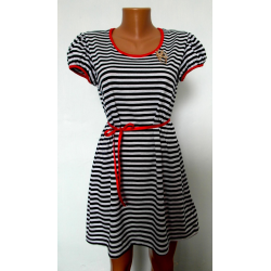 Платье с поясом К-07022 (нет в наличии)