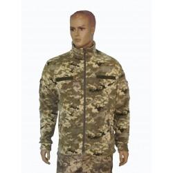 """Куртка флисовая цвет """"пиксель ВСУ"""" с камуфляжными вставками"""