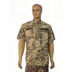 """Рубашка короткий рукав, камуфляж """"для ВСУ"""""""