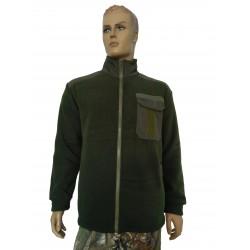 Куртка флисовая П-01001 (Однотон)